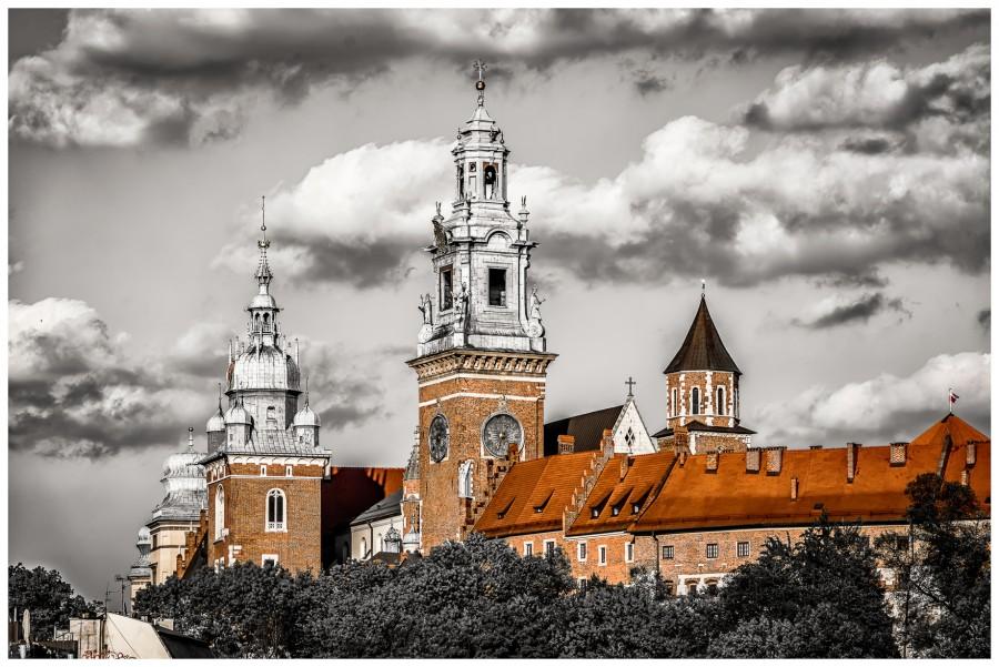 Wyjątkowa zima w Krakowie